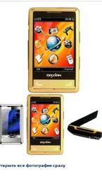 Стильный двухстандартный телефон CDMA и GSM с одновременной работой в