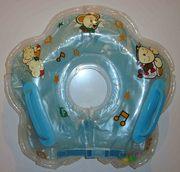 Круг надувной на шею для плавания детей от 0 до 2лет. Цена 300руб.