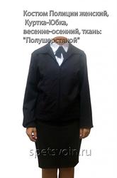 форменная куртка для мвд полиции женская летняя ткань пш