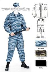 форменная одежда спецназа летняя зимняя