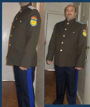форменная одежда для оренбургских казаков ткань пш
