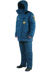 орменная одежда бушлат сотрудников мчс зимняя мужская женская куртка