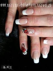 Наращивание ногтей (Гель,  Акрил,  Биогель),  Гель-Лак,  Дизайн ногтей. Челябинск.
