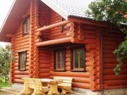 Строительство деревянных домов из клееного бруса и оцилиндрованного бр