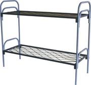 Кровати из металла для рабочих двух и трехярусные опт