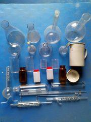 Продадим посуду лабораторную химическую из термоустойчивого стекла.
