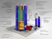Паровой котел (парогенератор) t=110-400С