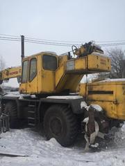 Продам автокран Юрмаш Юргинец КС-43725Б в хорошем состоянии
