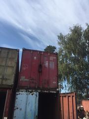 Предлагаем контейнеры морские,  железнодорожные 20 футовые,  б/у