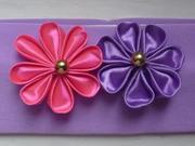 Продаю повязки с цветами ручной работы для маленьких модниц